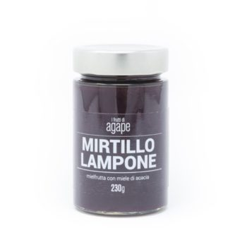 Mielfrutta Mirtillo Lampone 230g