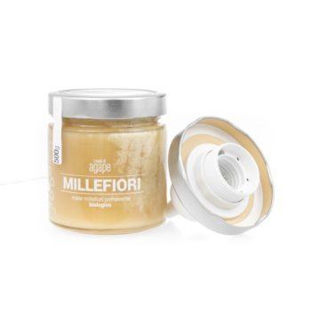 Agape-jour, Lampada con vaso di miele