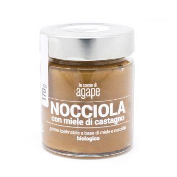 Crema di Nocciole con Miele di Castagno Biologica 170g
