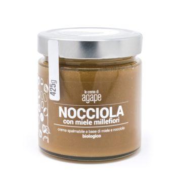 Crema d Nocciole con Miele Millefiori Biologica 425g
